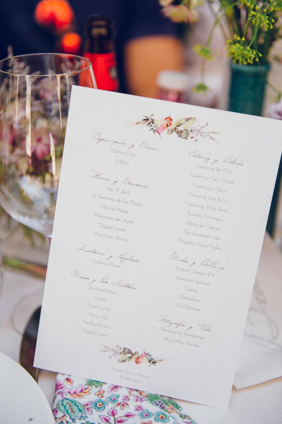 Calista One Summer Party Lista y blog de bodas 25.6