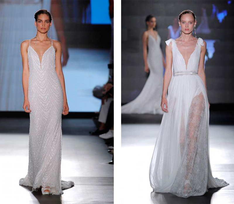Rosa Clara 2019 Barcelona Bridal Fashion Week por Rodolfo Mcartney Vestidos Rosa Clara via Barcelona Bridal Fashion Week collage-1