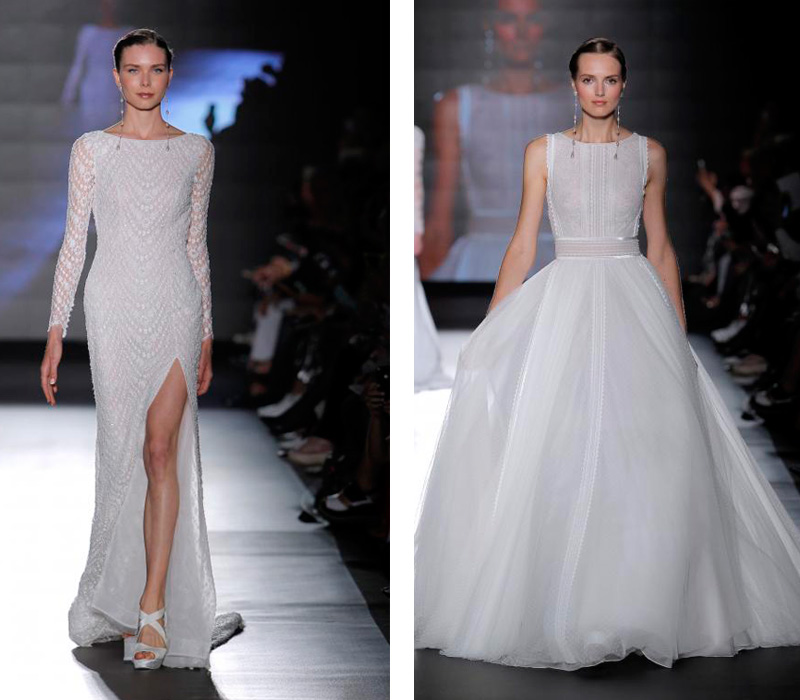 Rosa Clara 2019 Barcelona Bridal Fashion Week por Rodolfo Mcartney Vestidos Rosa Clara via Barcelona Bridal Fashion Week collage-4