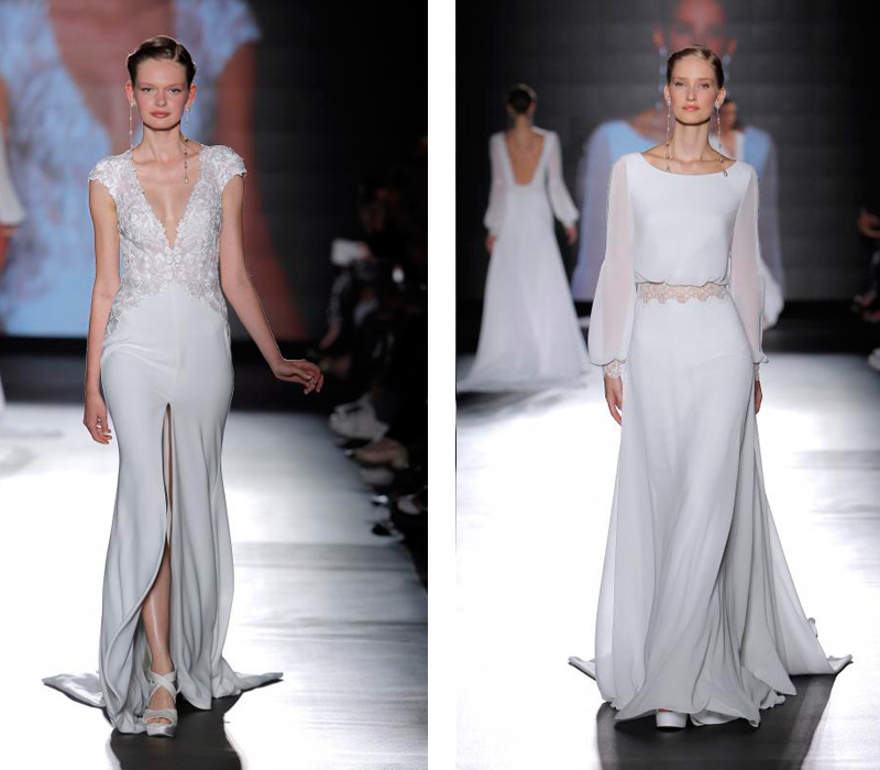 Rosa Clara 2019 Barcelona Bridal Fashion Week por Rodolfo Mcartney Vestidos Rosa Clara via Barcelona Bridal Fashion Week collage-5
