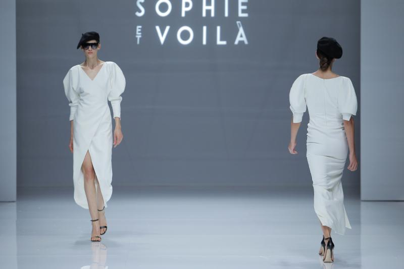 Sophie et Voilà/ Fotos vía Barcelona Bridal Fashion Week