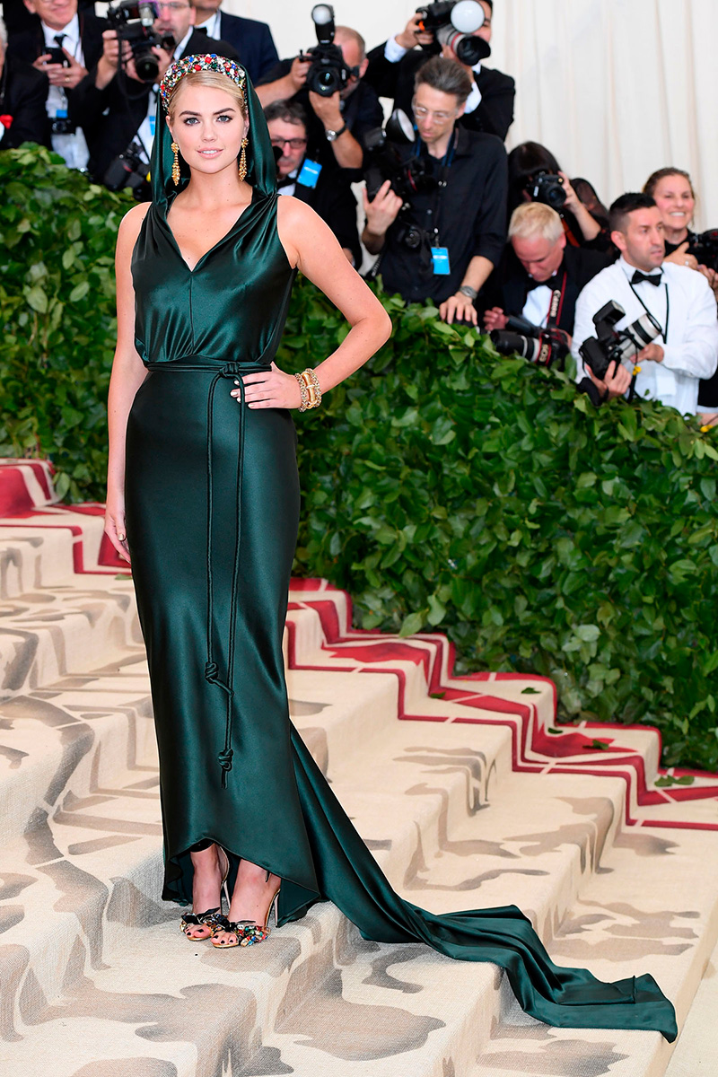 Kate Upton de Zac Posen/ Getty Images