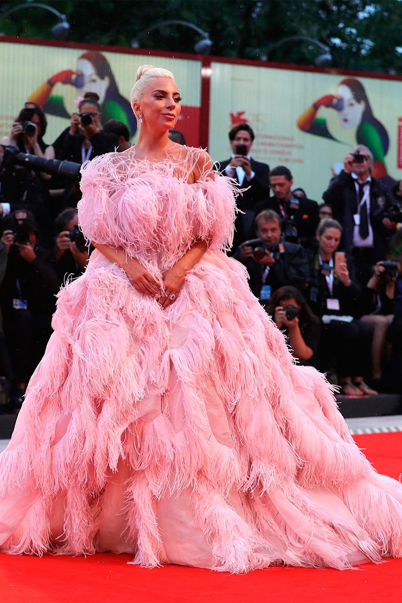 Lady Gaga de Valentino/ Foto Getty Images
