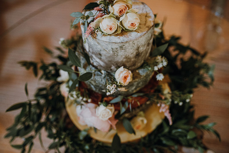 Tarta de quesos de Cheese Larder/ Fotos Claire Fleck Photography
