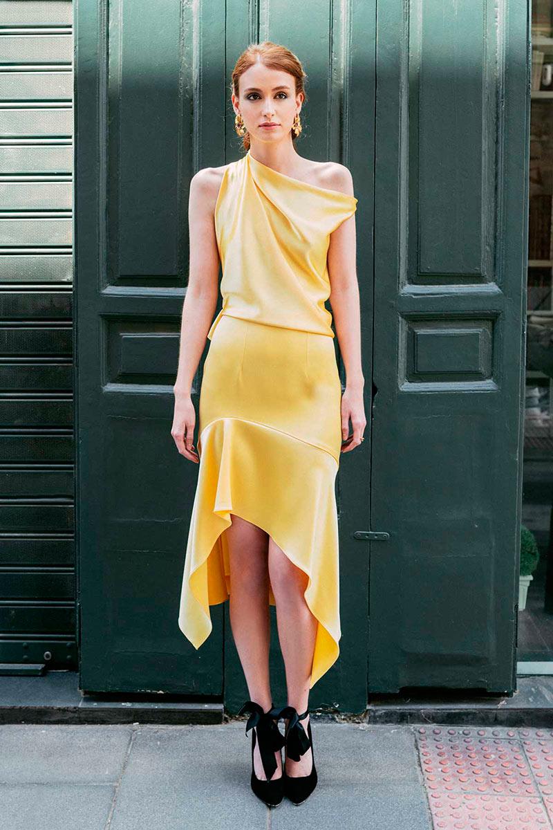 Nueva coleccion fiesta ESCUER vestidos de invitada por Rodolfo Mcartney Fotos Sara Lobla 87