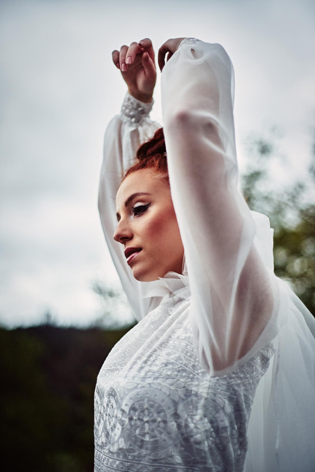 Vestido: Juana Rique | Foto: Manu Cruz