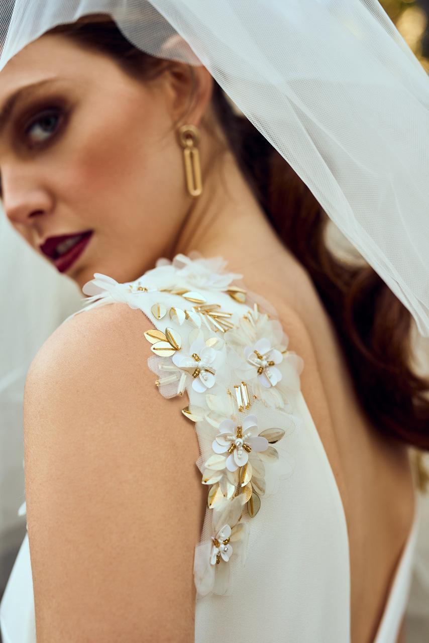 Modelo Elisa, BEBA`S Iconic | Pendientes: Cacto Shop | Foto: Soraya y Rodrigo